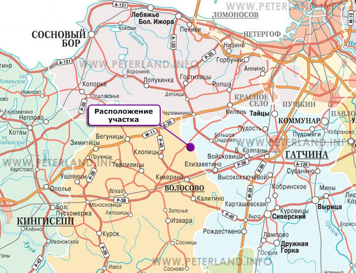 В Волосовском районе отключали электричество