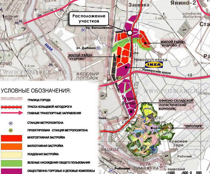 кудрово на карте спб Новостройки Кудрово. Квартиры от застройщика в.