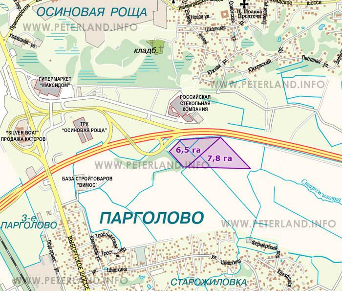 Планы строительства КАД в СПетербурге