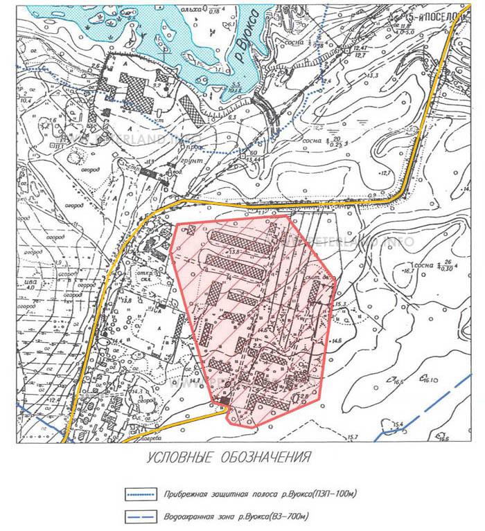 Продажа земельного участка в Приозерске у Вуоксы и Ладоги.